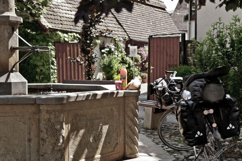 Frühstücksbrunnen
