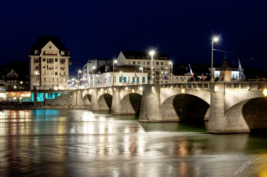 Basel by Night