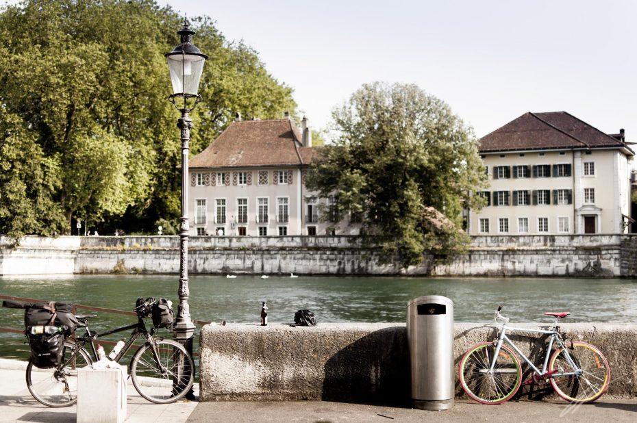 Flussufer Solothurn