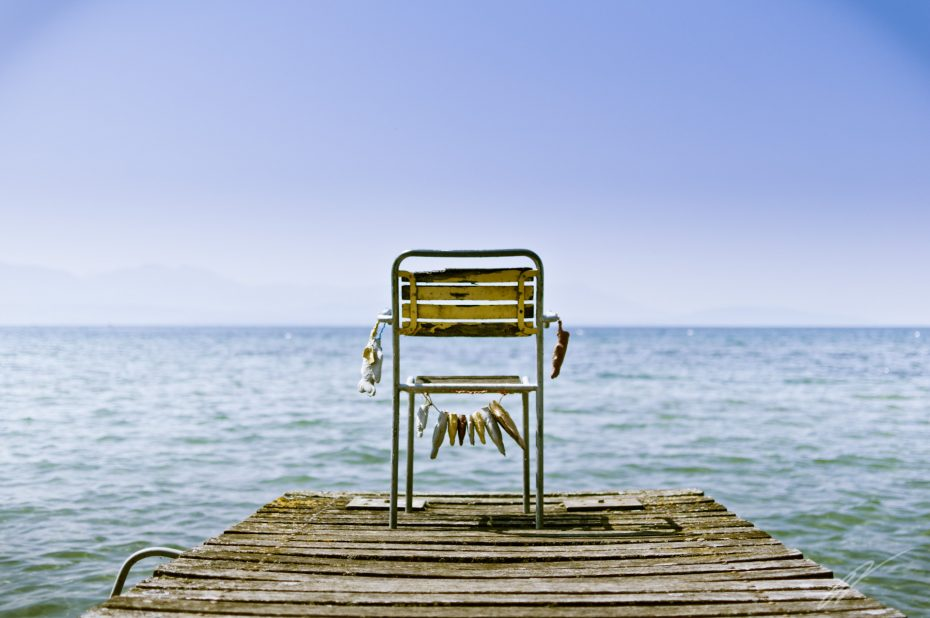 Denkerstuhl am Genfer See