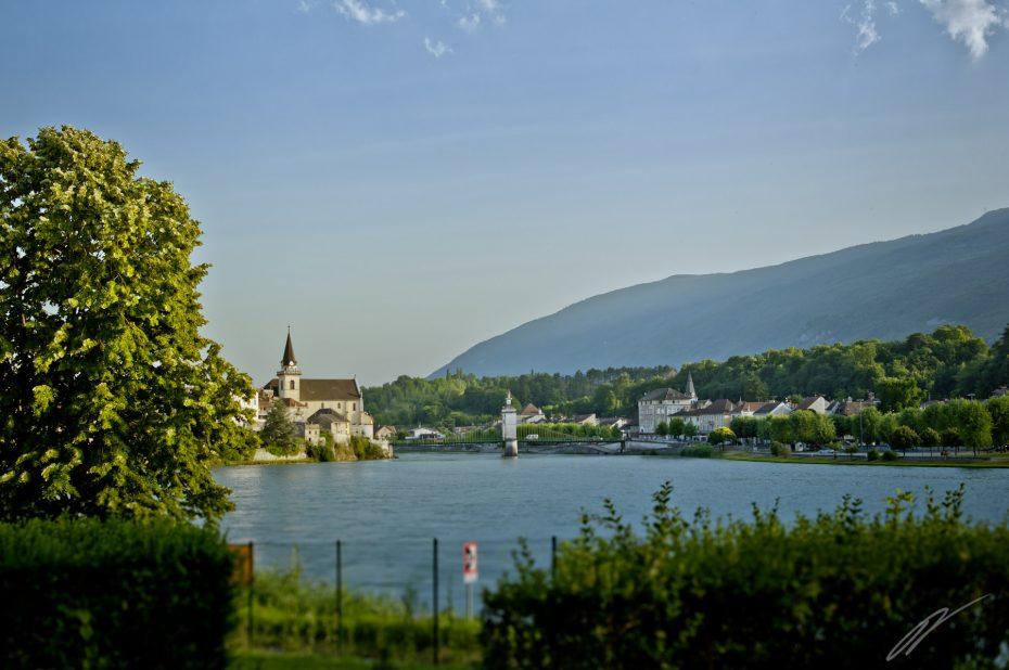 Seyselle in der Savoie