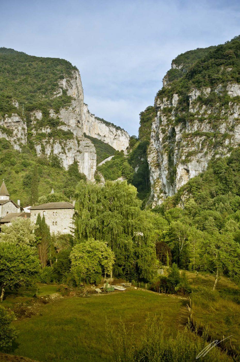 Schlucht in Isère