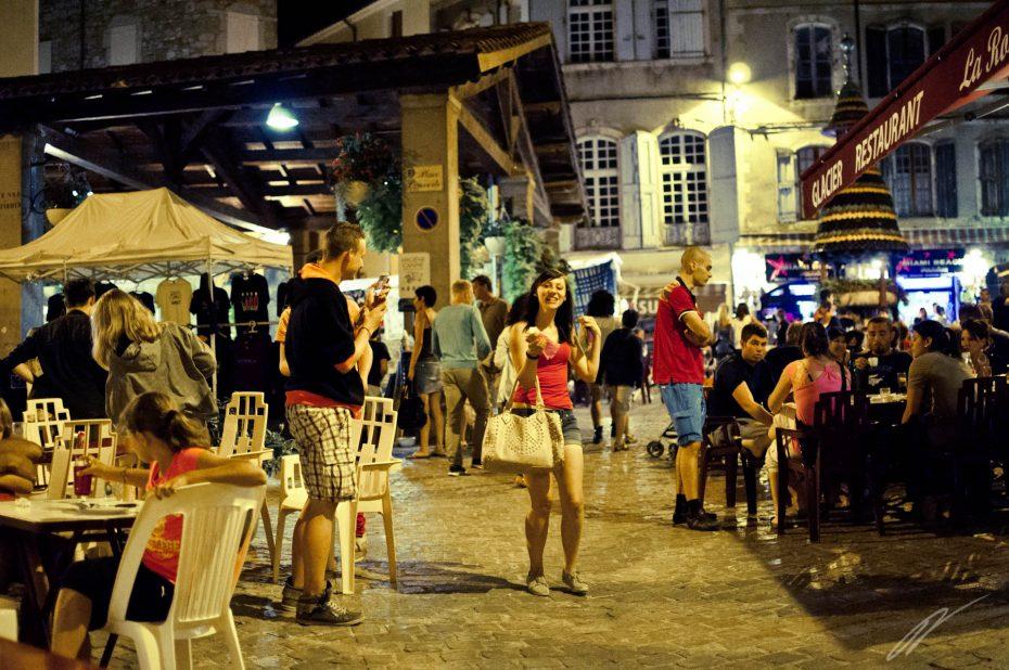 Nachtmarkt in Anduze
