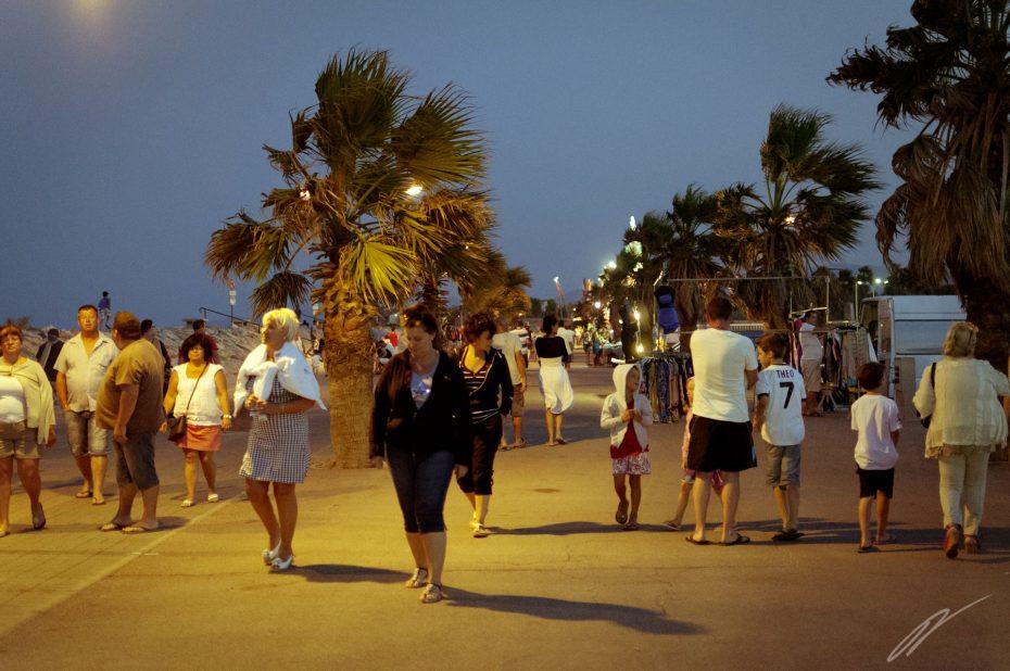 Strandpromenade von Ste Marie la Mer