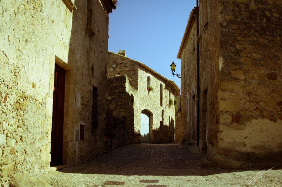 kleines Dorf, Spanien