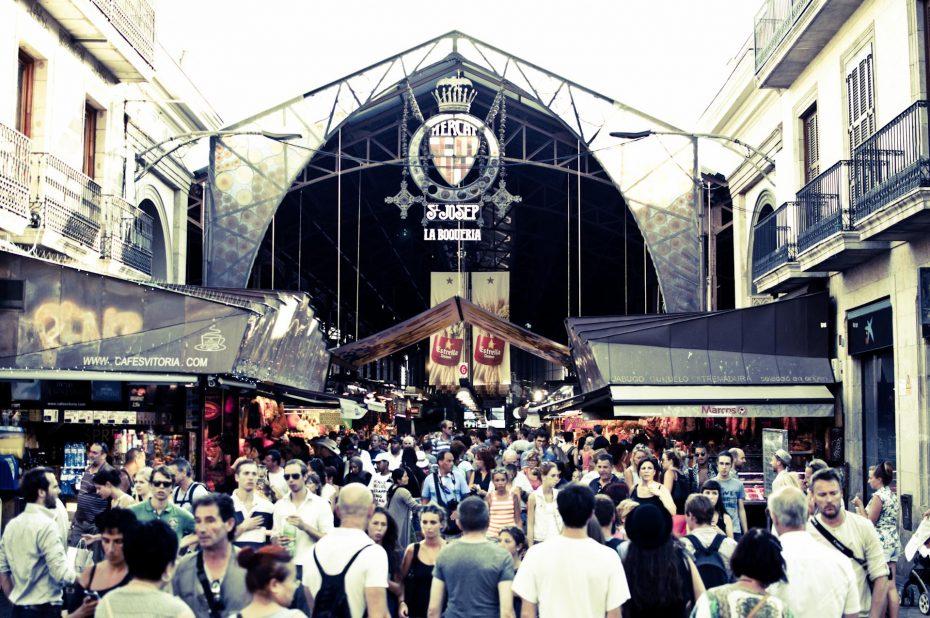 Der Markt von Barcelona