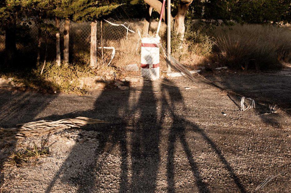 lange Schatten zu später Stunde