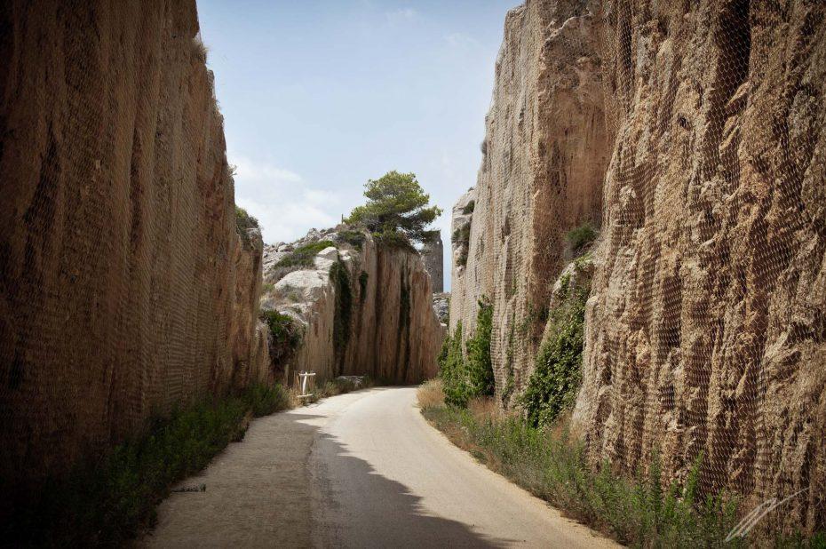 Fahrradweg nach Benicassim