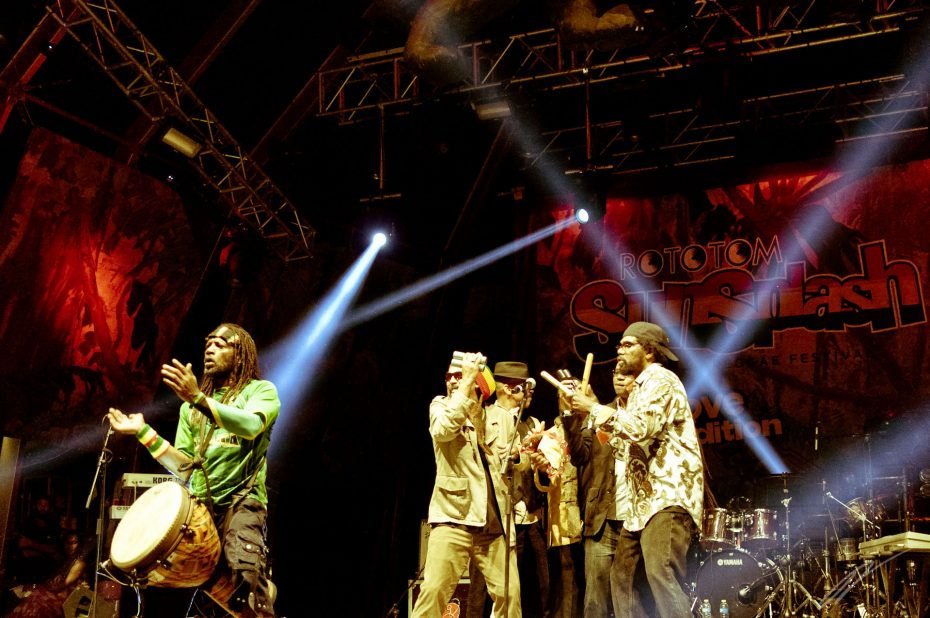 Third World at Rototom 2013