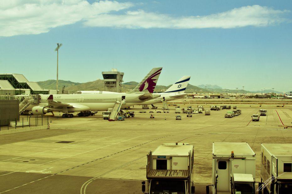 Flughafen, Barcelona