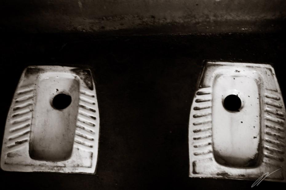 Toiletten à la Sotchi