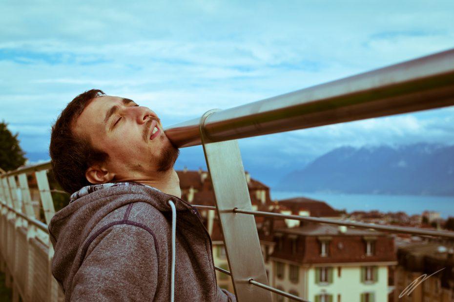 Blick auf Lausanne