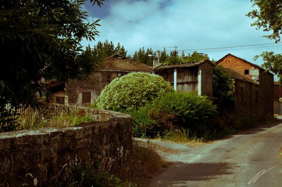 galicisches Dorf
