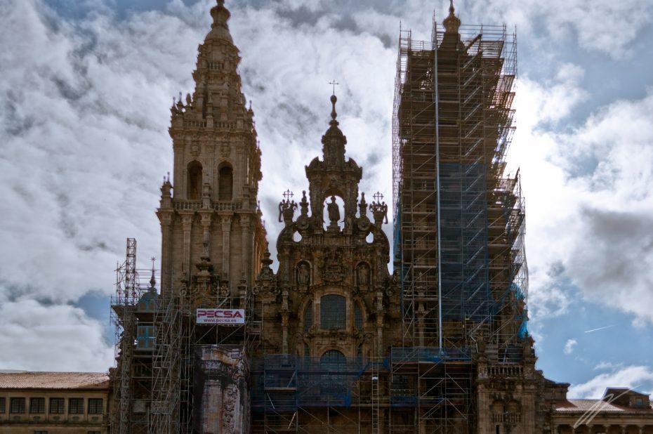 Die Basilika in Santiago