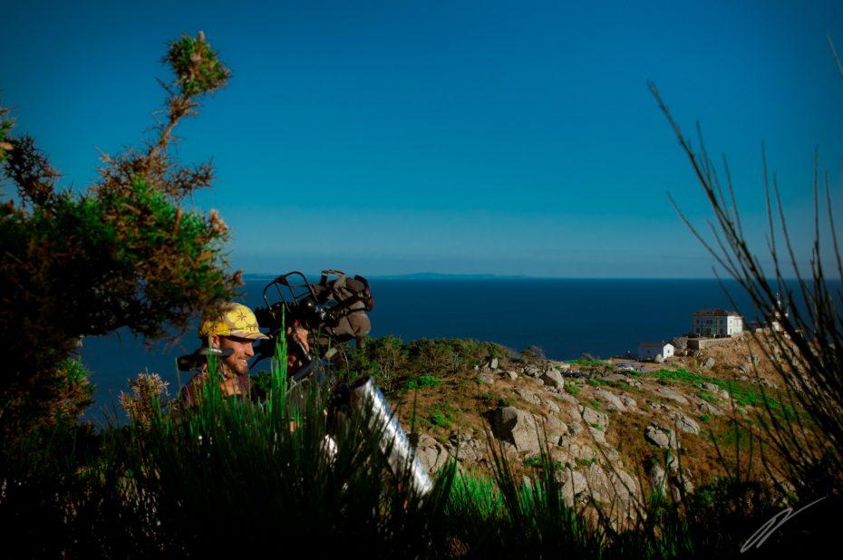 gemeinsames Bild mit Alferd am Kap Finisterre