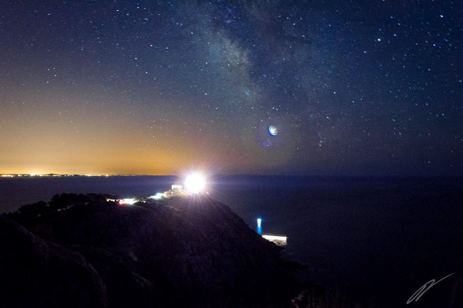 Kap Finisterre bei Nacht