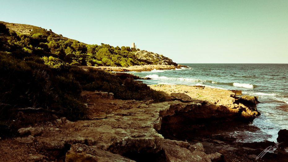 Küstenstreifen nördlich von Benicassim