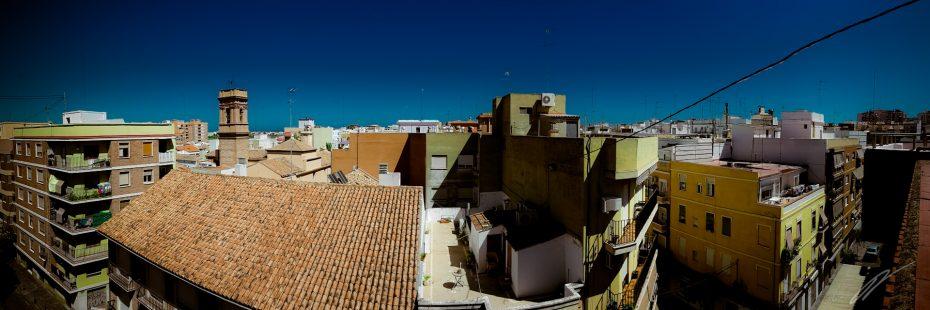 Dächer über Valencia