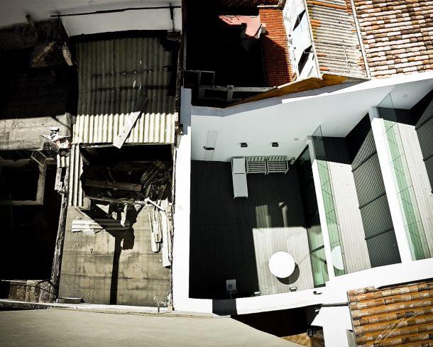 Dachterrasse in Valencia