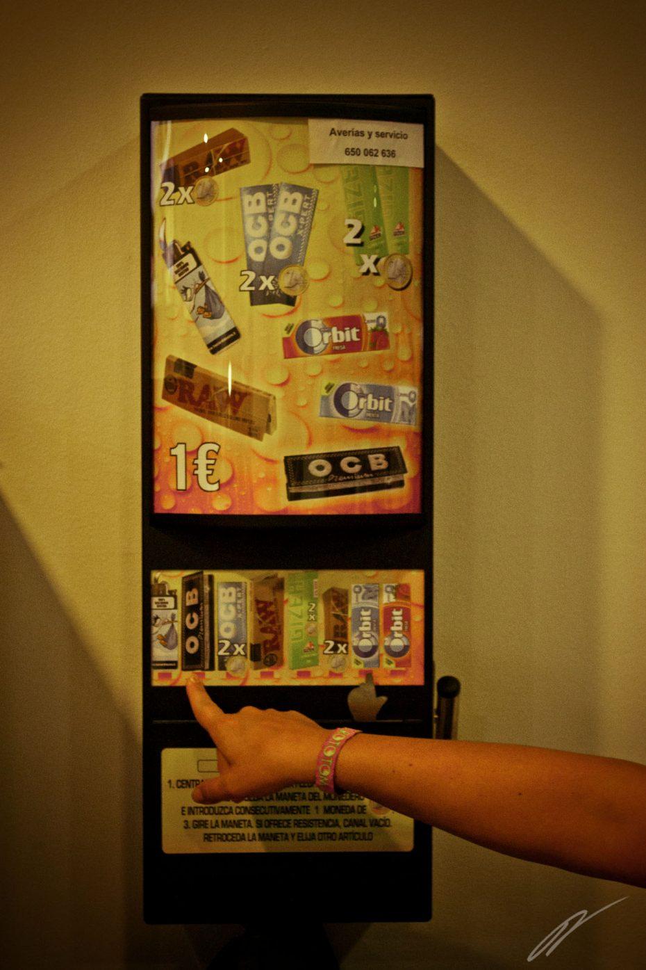 Automaten mit denen man erst mal klarkommen muss