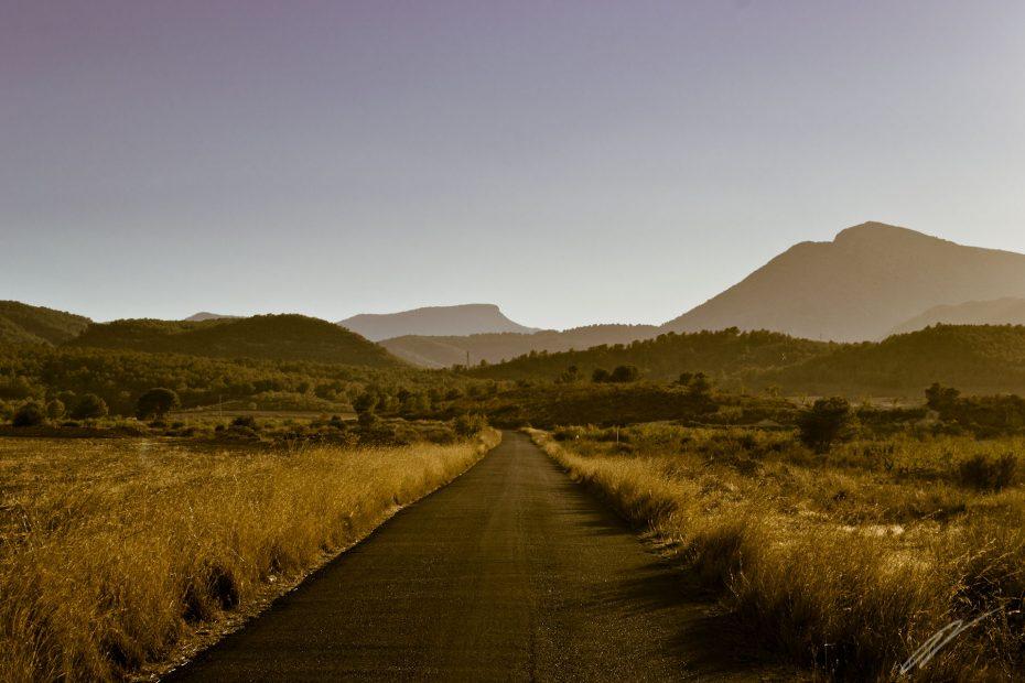Blick auf die Sierra Espuna