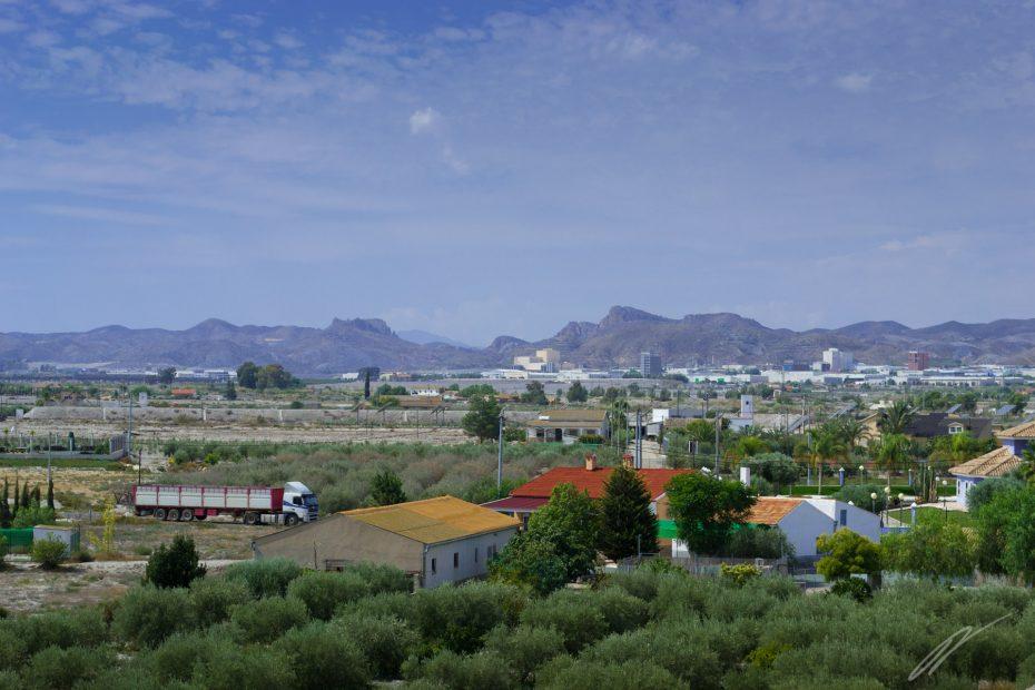südlich von Lorca