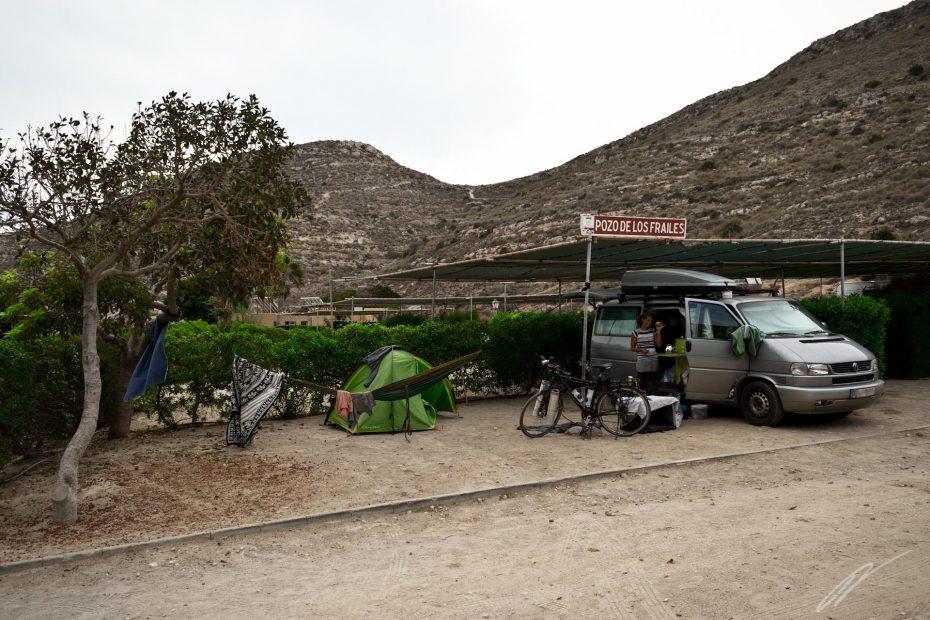Campingplatz bei Las Negras