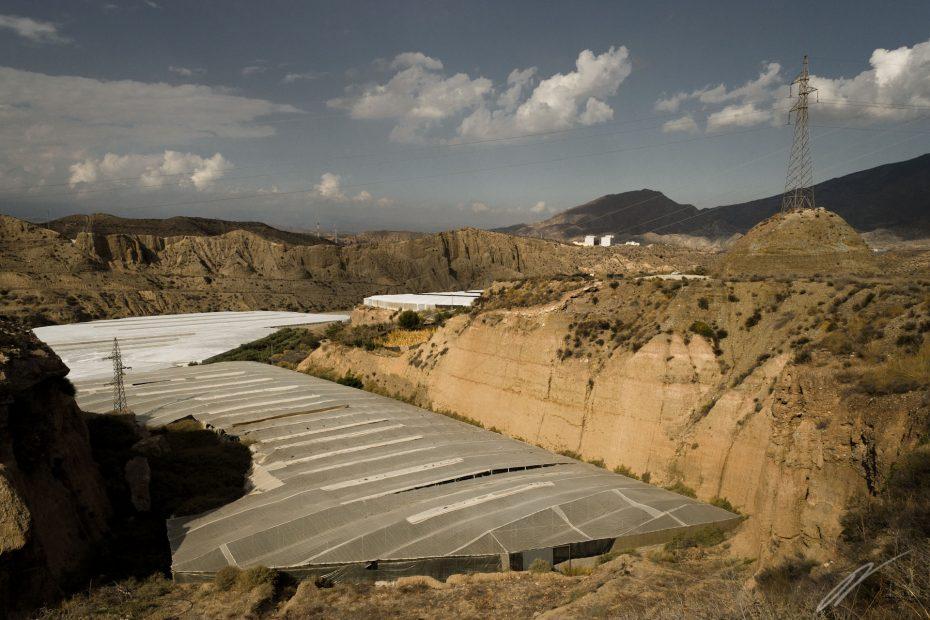 Gewächshaus in den Alpujarras