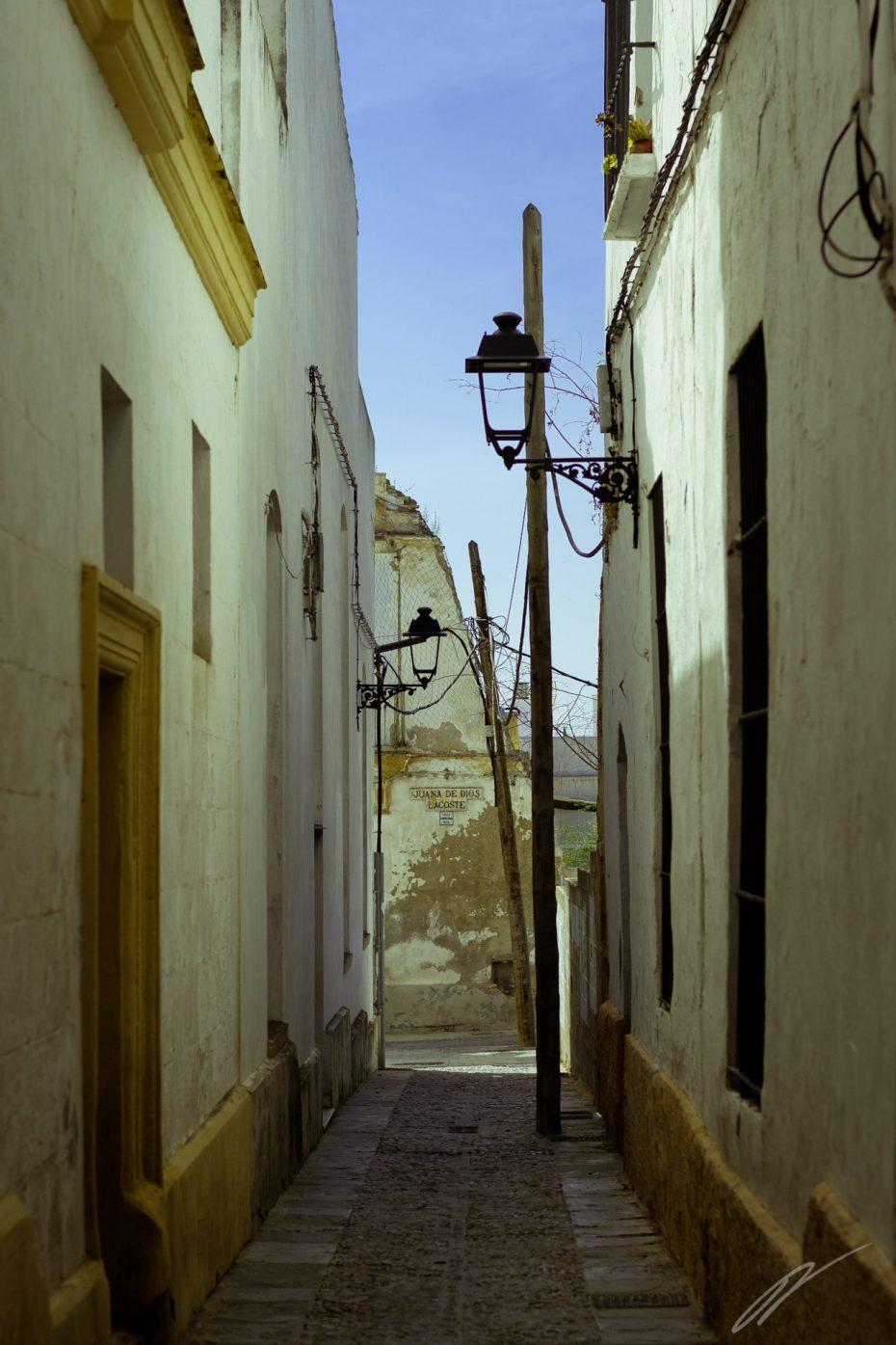 Gasse in Jerez