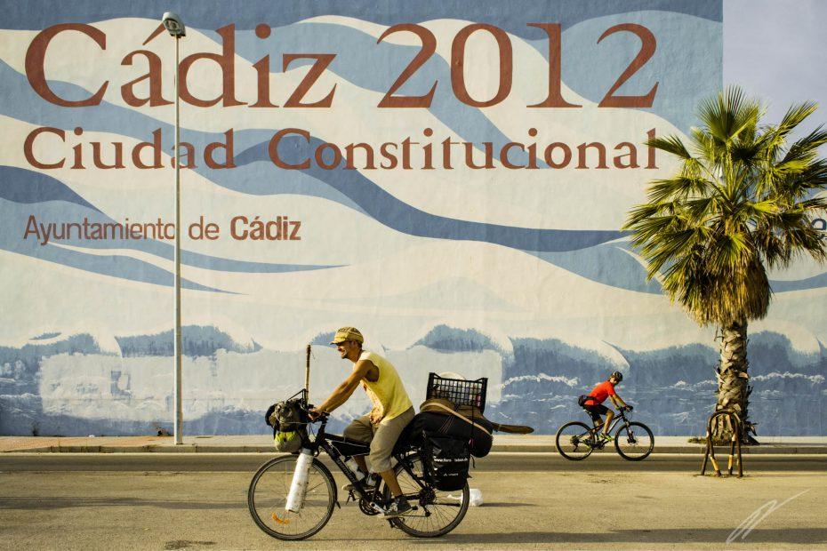 Ankunft in Cádiz